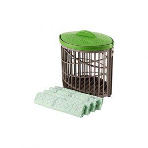 Ventimax + 4 rollen composteerbare afvalzakjes 10 liter