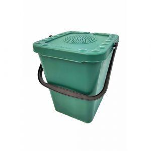 Afvalbak incl. koolstoffilter 10 liter – groen
