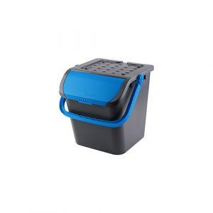 Stapelbare afvalemmer malpie 28 liter – blauw